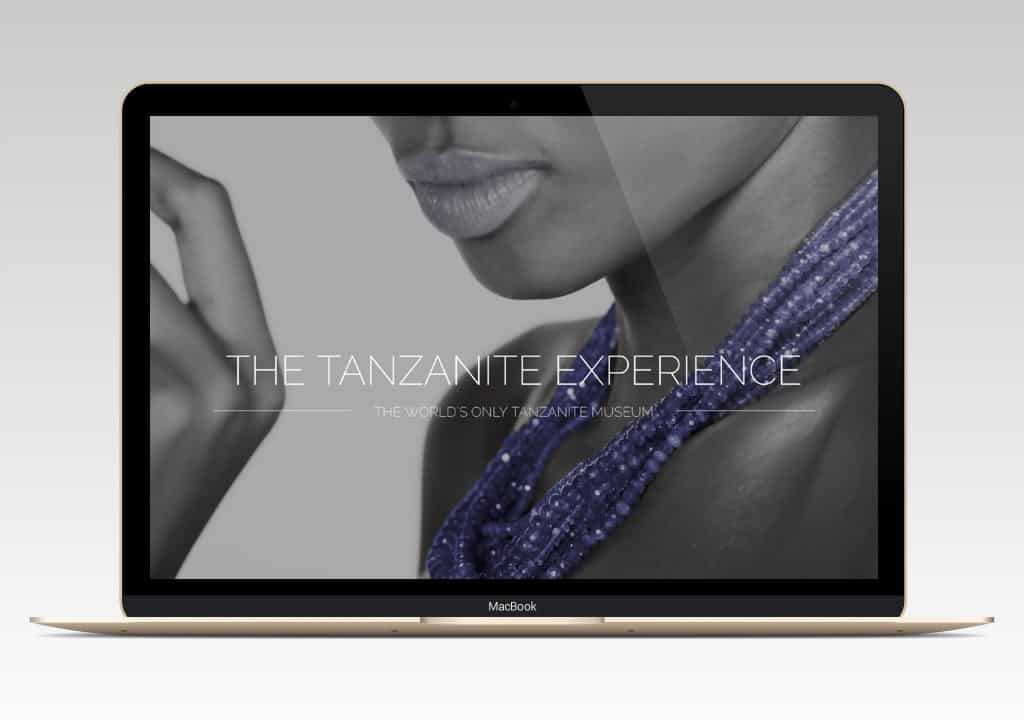Tanzanite Experience Website 1