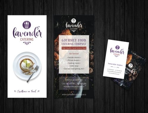 Lavender Catering Brochure