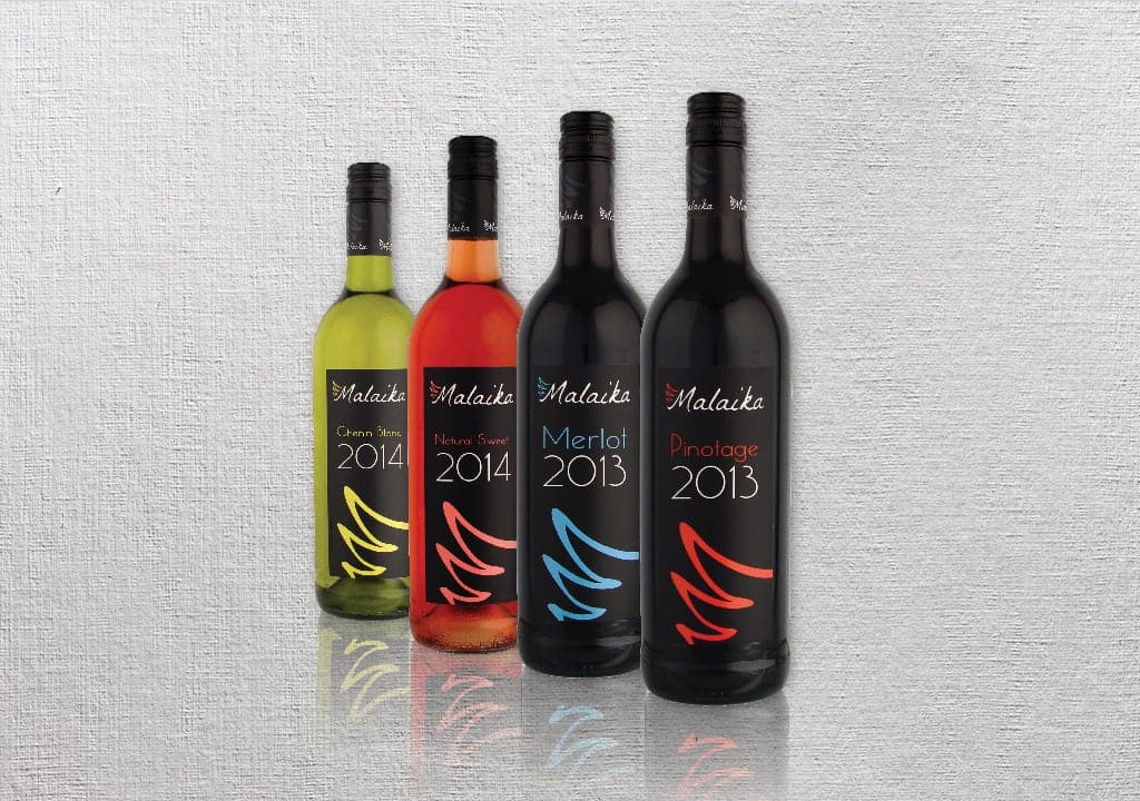 Malaika Wine Rebranding Packaging 3