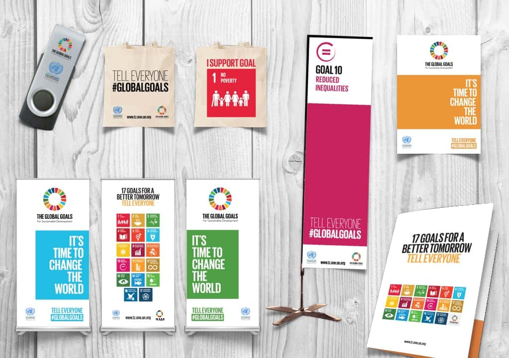 Global Goals by UN 1