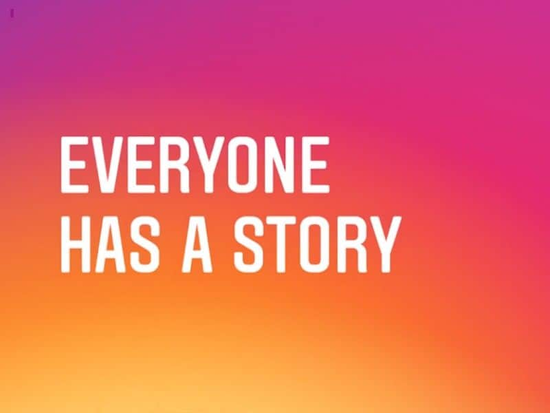 Instagram stories as part of marketing via instagram