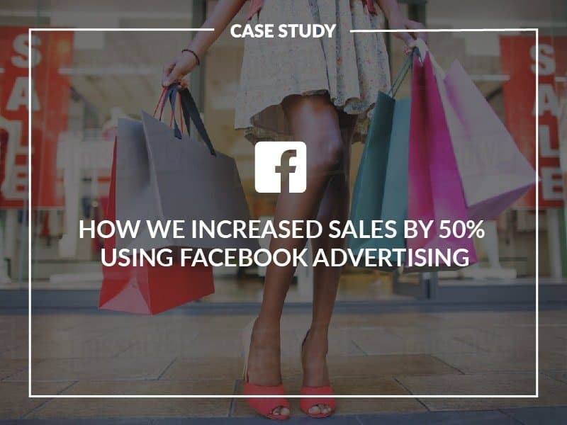 how to increase sales using facebook and instagram advertising