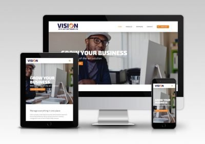 Vision Software Website 1