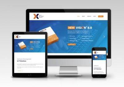 Exact Sofware Ltd. Website 7